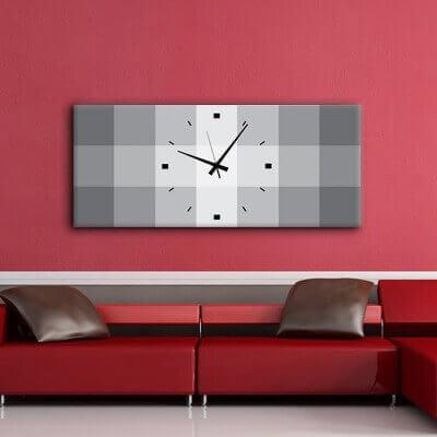 rellotge paret de disseny QRG