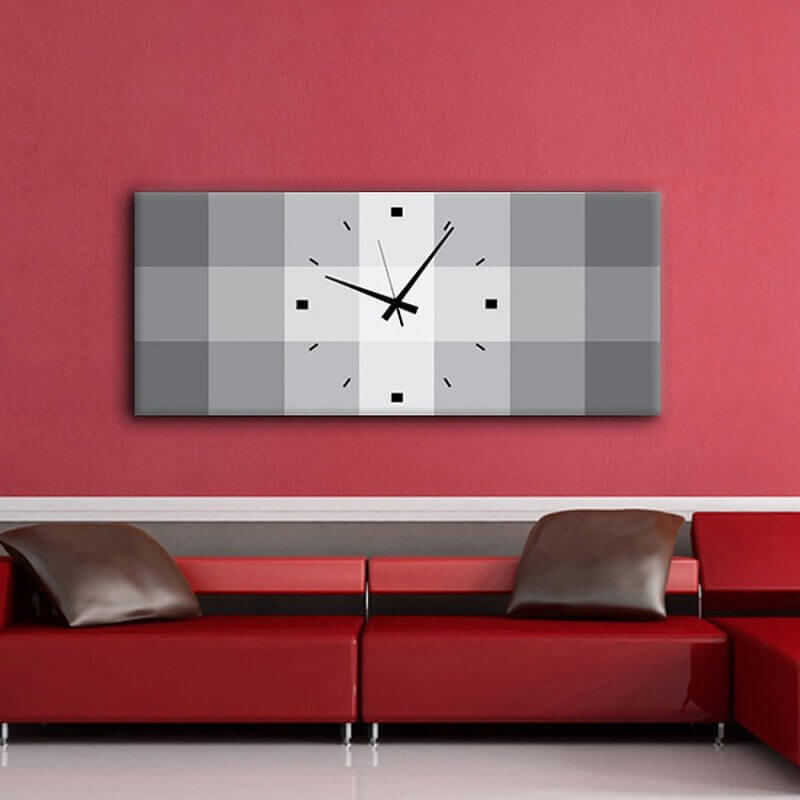 reloj pared diseño QRG