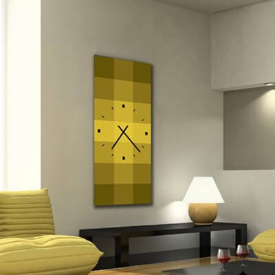 reloj pared diseño QRV