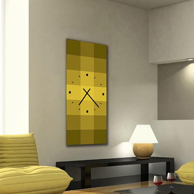 horloge murale design QRV