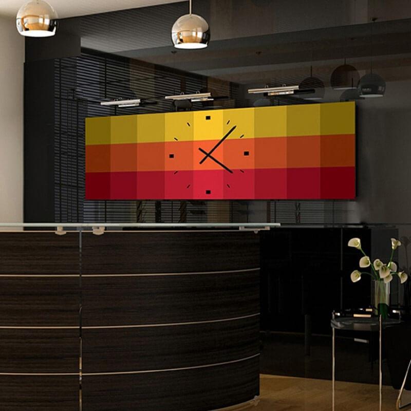 reloj de pared moderno de diseño TRV