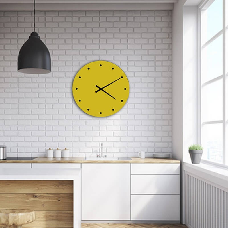 wall clock green design