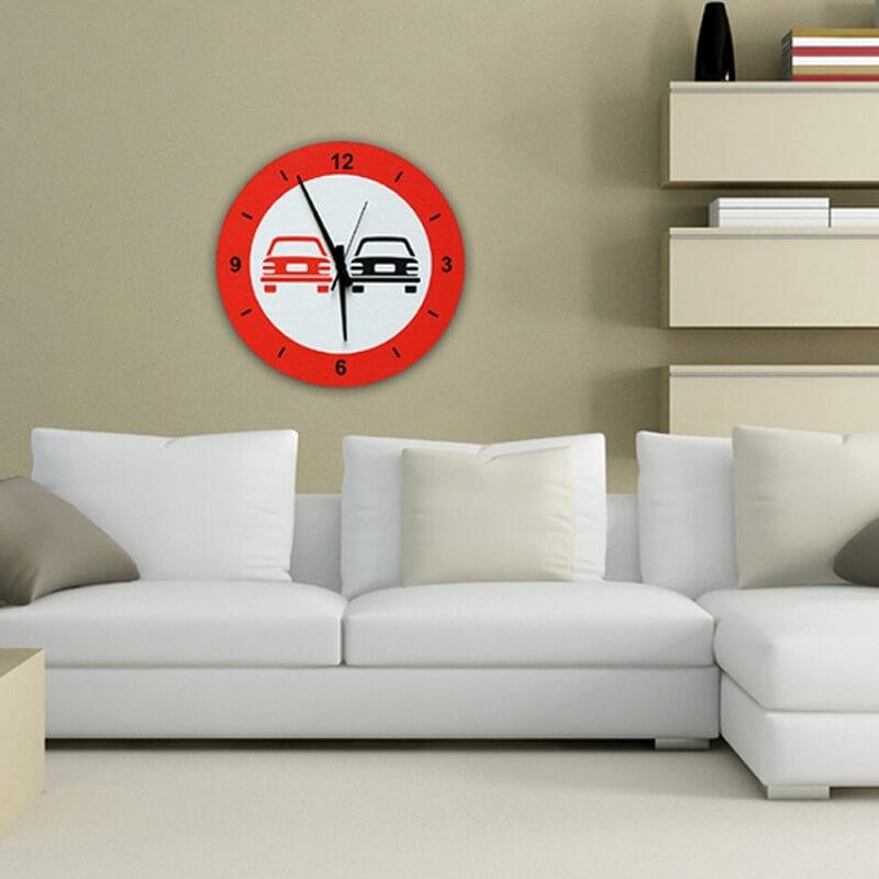 horloge murale design STPA