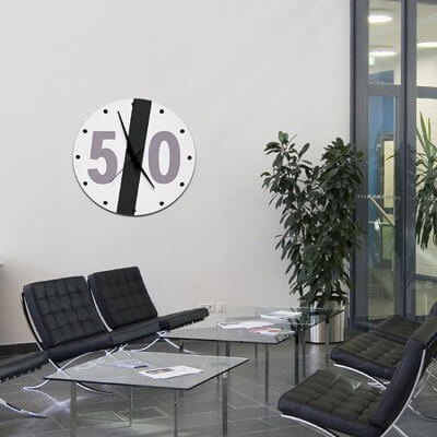 rellotge paret disseny STFV