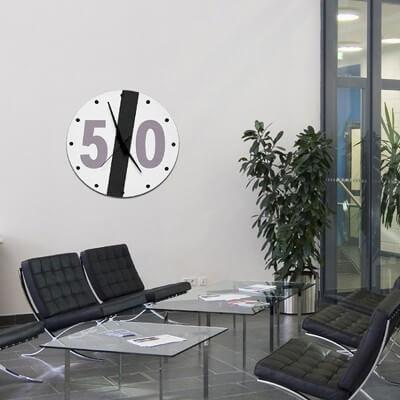 reloj pared diseño STFV