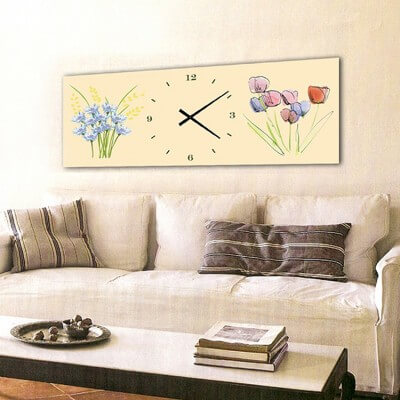 horloge murale design FHB
