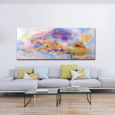 cuadros abstractos modernos para el salón-alma