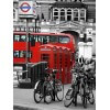 Tableau photographie urbain London Red Bus 2