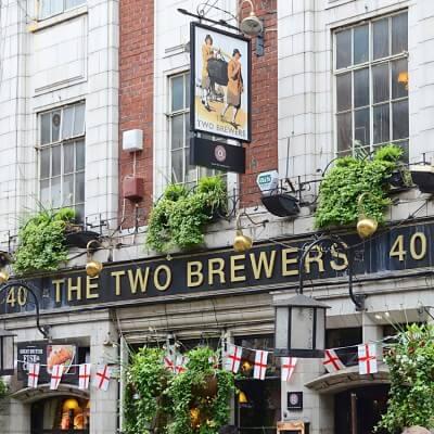 Tableau photographie urbain London Pub 4