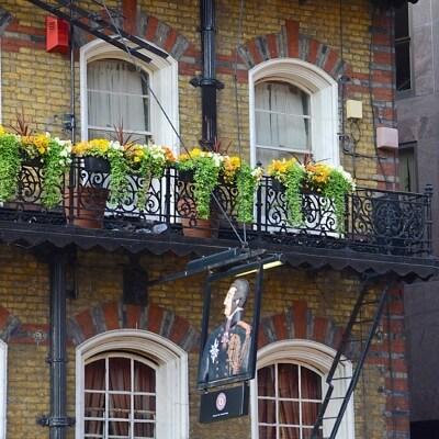 Quadre fotografia urbana ciutat London Pub 7
