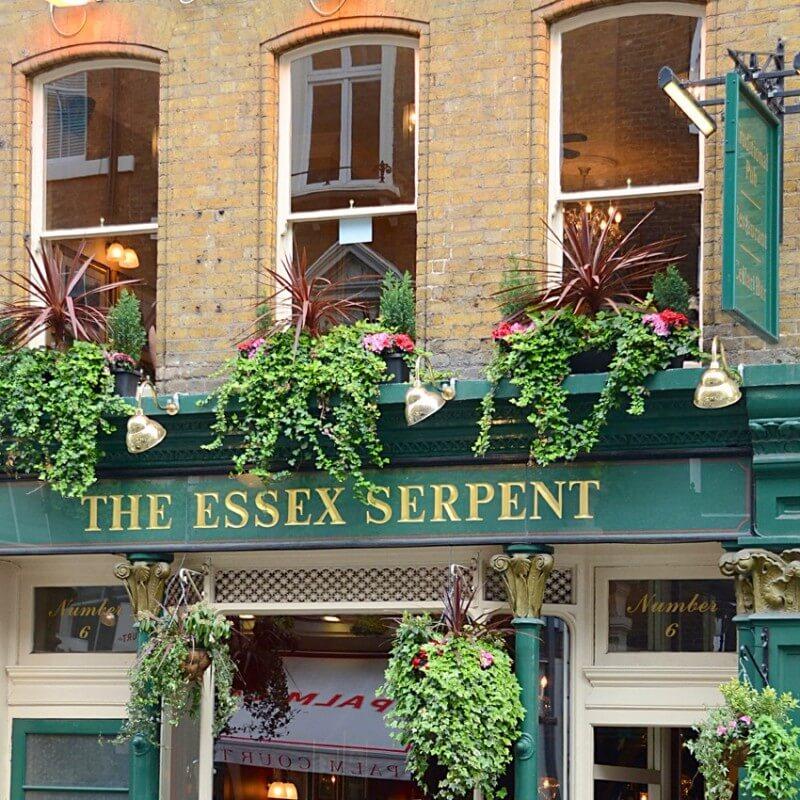Quadre fotografia urbana ciutat London Pub 5