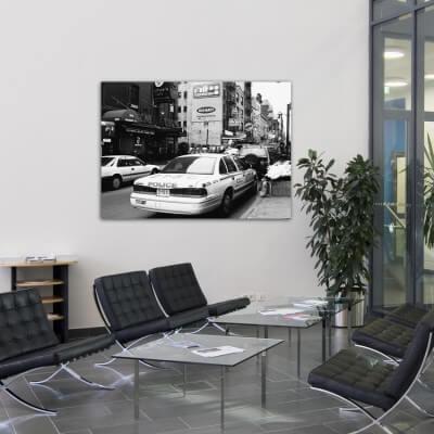 Tableau photographie urbain quartier italien, New York
