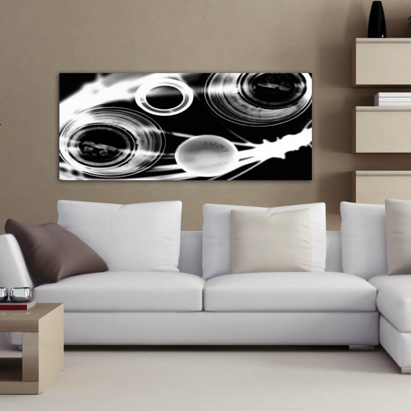 cuadros modernos fotografía galáctico blanco