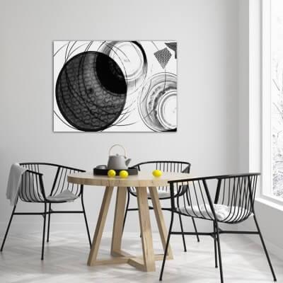 cuadros modernos fotografía órbita negra