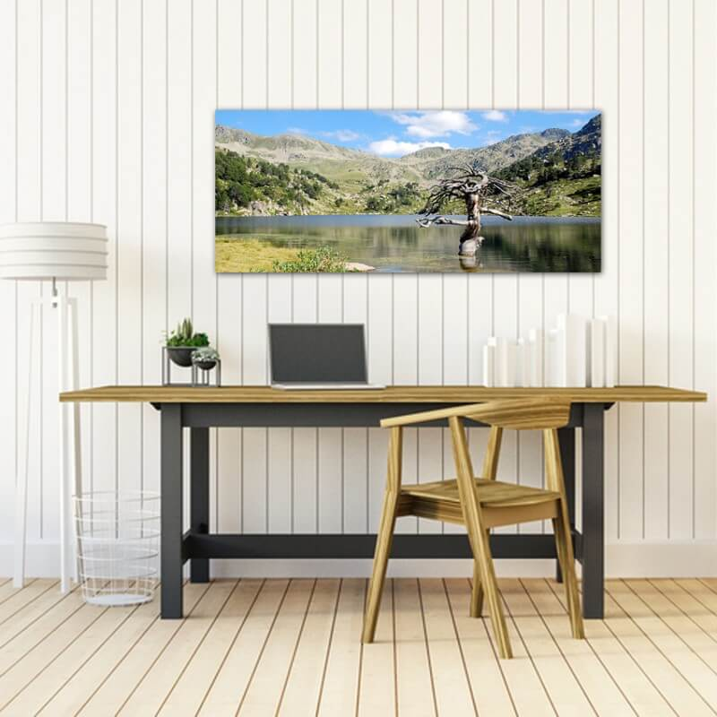 cuadros modernos fotografía Lago Veciberri
