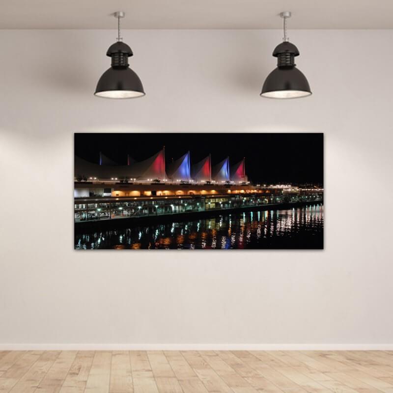 cuadros modernos fotografía puerto de Vancouver
