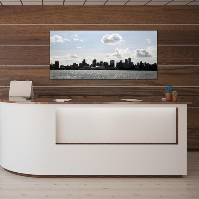 cuadros modernos fotografía skyline de Vancouver