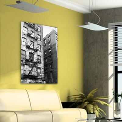 cuadros modernos fotografía edificio en Nueva York