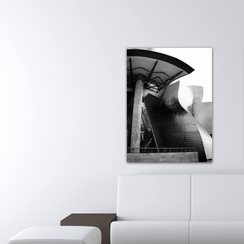 cuadros modernos fotografía delante la puerta, Guggenheim