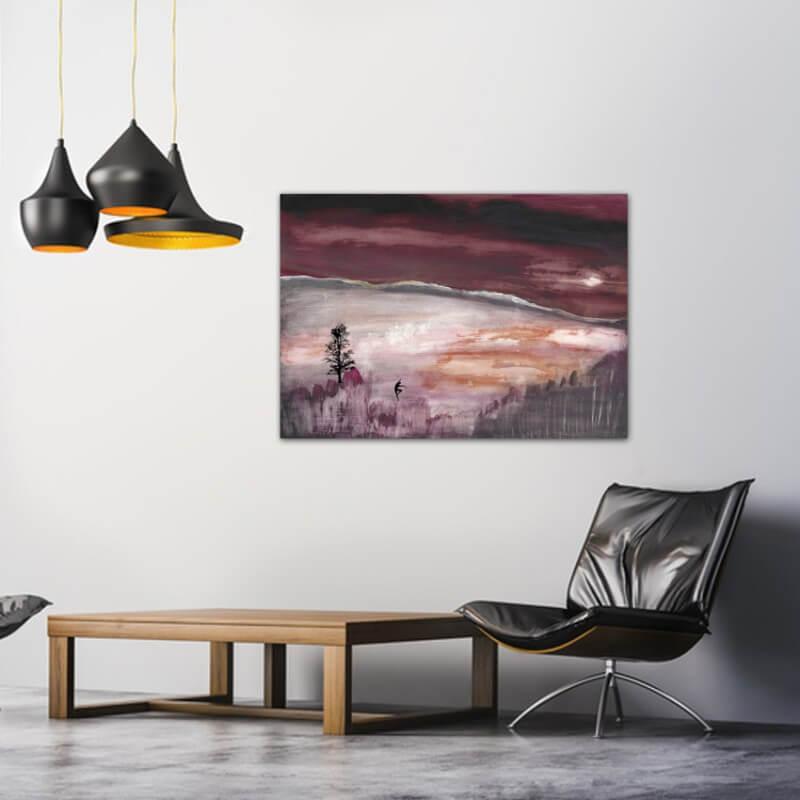 cuadros modernos fotografía equilibrio