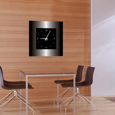 horloge murale design moderne grecaridea. Black Bedroom Furniture Sets. Home Design Ideas