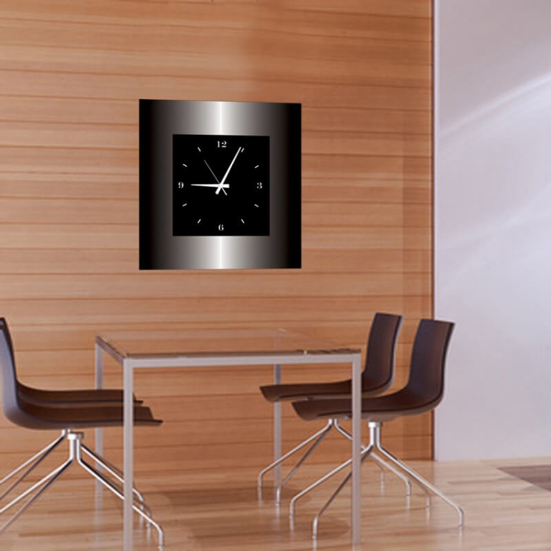 horloge murale design mtln grecaridea. Black Bedroom Furniture Sets. Home Design Ideas