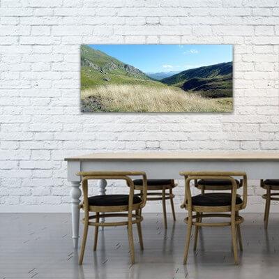 Tableau photographie paisajes chemin de la vallée Liat