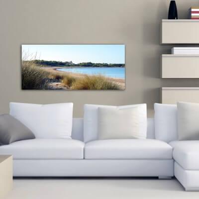 Tableau photographie paisajes plage Es Carbó 2