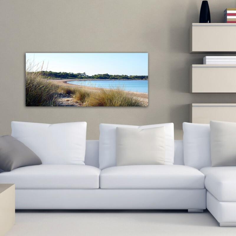 cuadros modernos fotografía playa Es Carbó 2