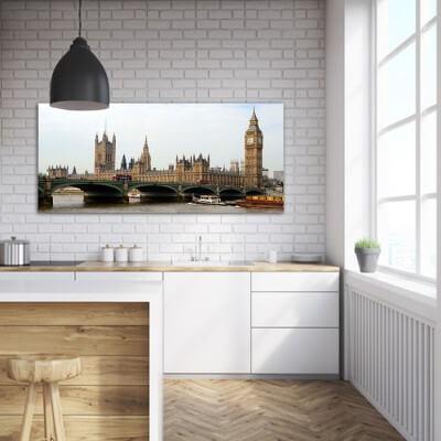 Tableau photographie urbain London Parliement