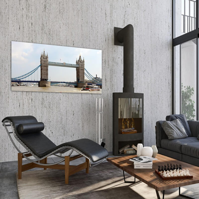 Urban painting photography Tower Bridge