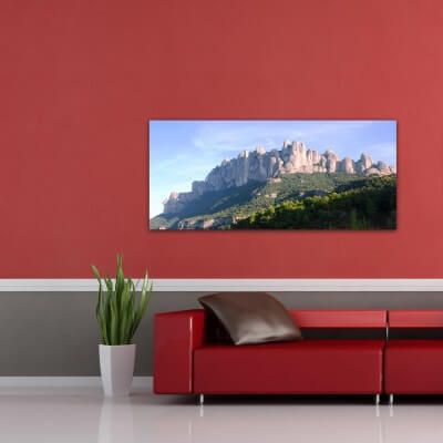 Landscapes painting photography Montserrat 2