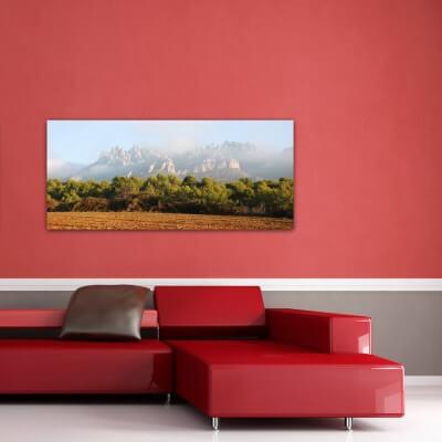 Tableau photographie paisajes Montserrat 3