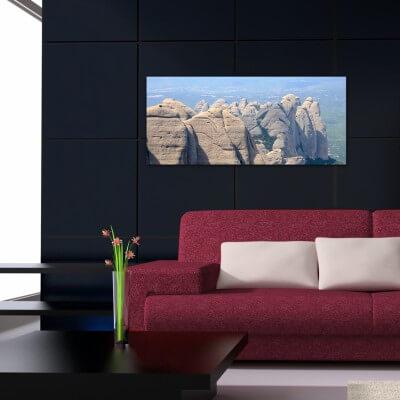 Tableau photographie paisajes Montserrat 1
