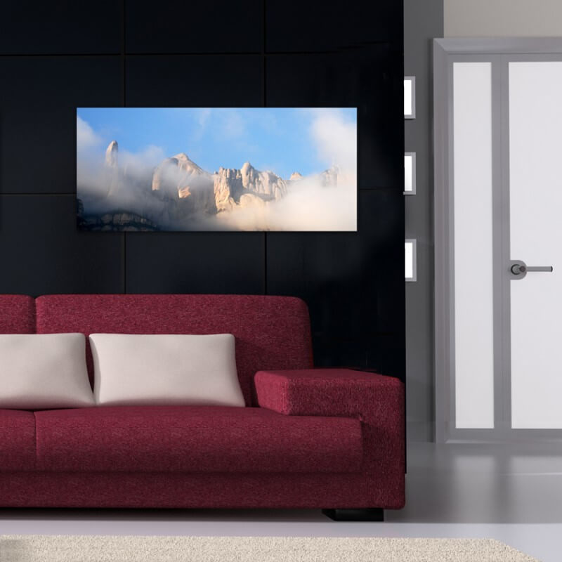Tableau photographie paisajes Montserrat 5
