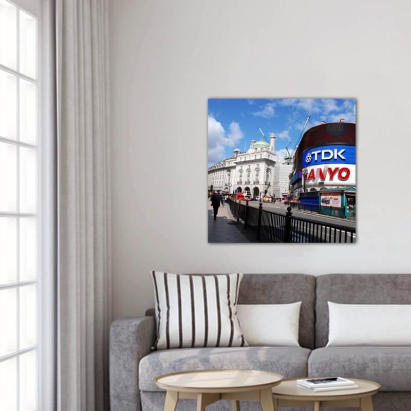cuadros modernos fotografía Picadilly Circus