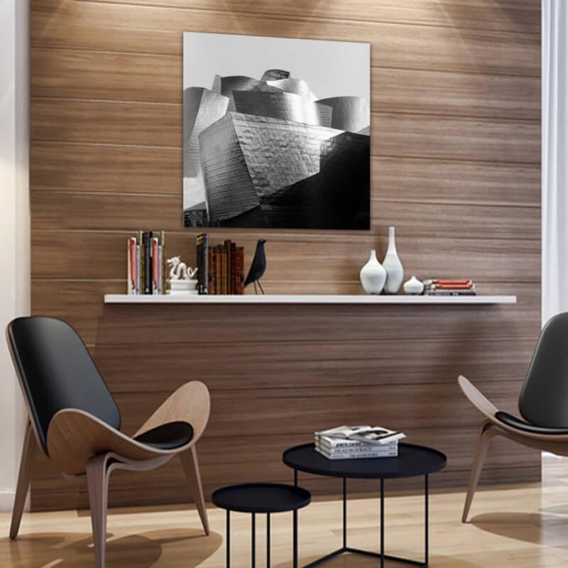 cuadros modernos fotografía cubierta Guggenheim Bilbao