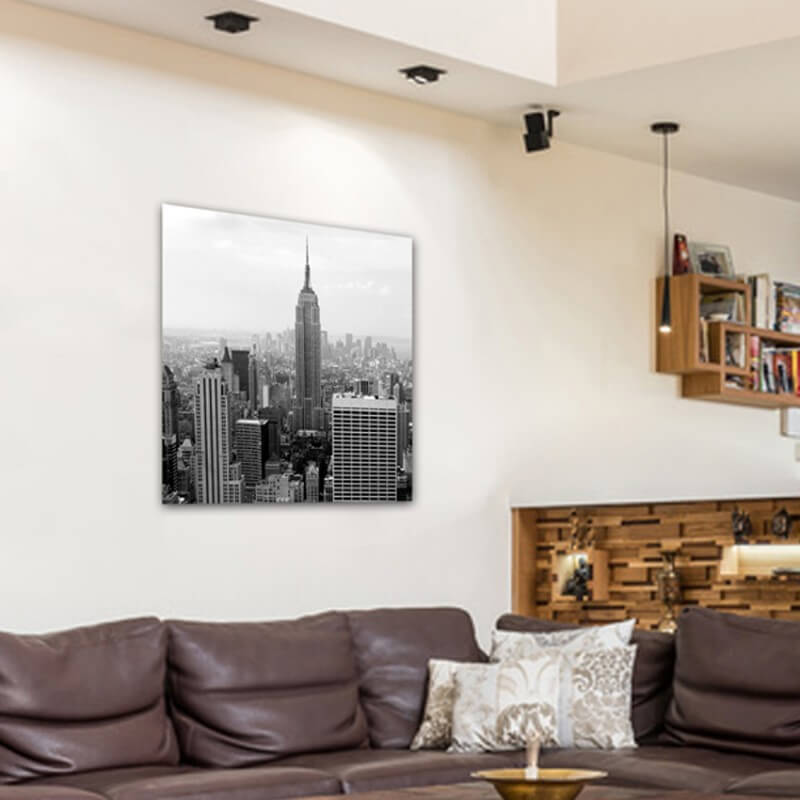 cuadros modernos fotografía Empire State B/N