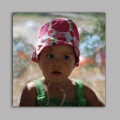 quadre fotografía personalitzat amb la teva foto. format quadrat