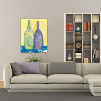 cuadros modernos abstractos de bodegones para el salón-recuerdo compartido