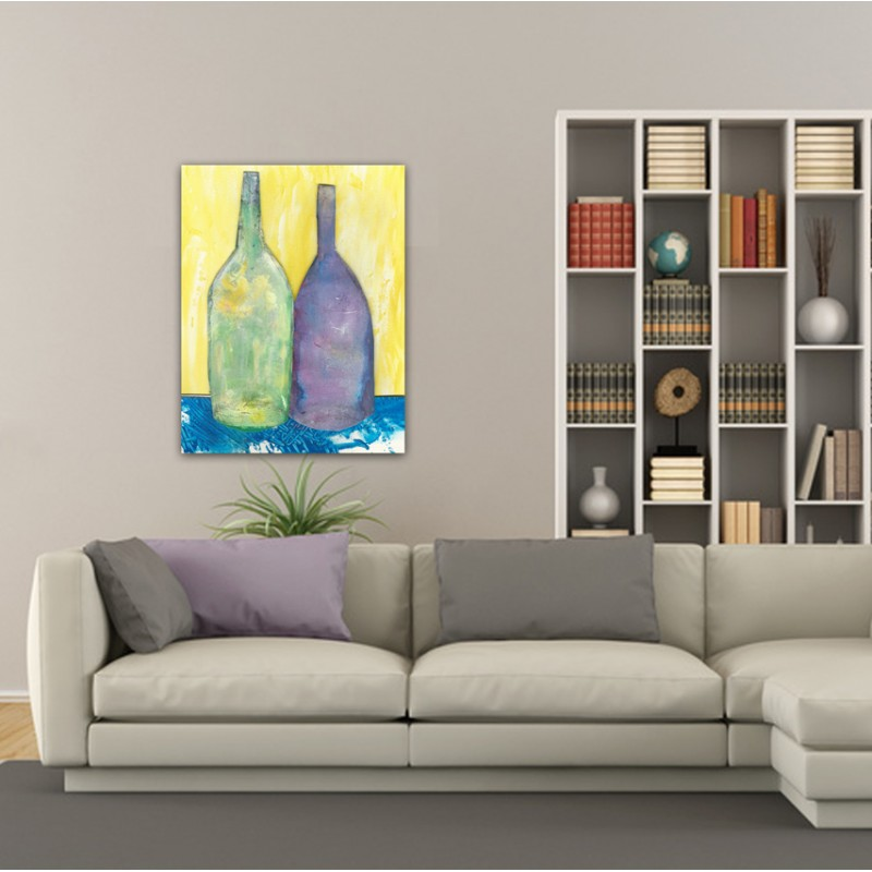 modern abstract paintings to decorate the living room-shared memory