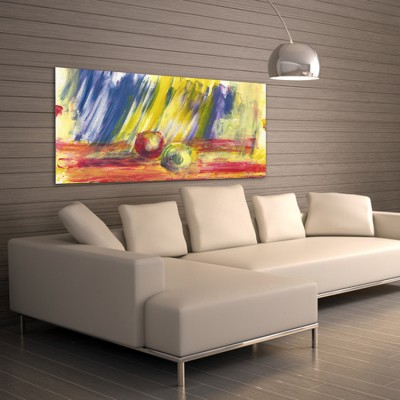 modern astract paintings to decorate the living room-come closer