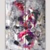 quadres moderns abstractes-díptic vertical discerniment