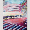 abstract urban paintings- Guggenheim in New York