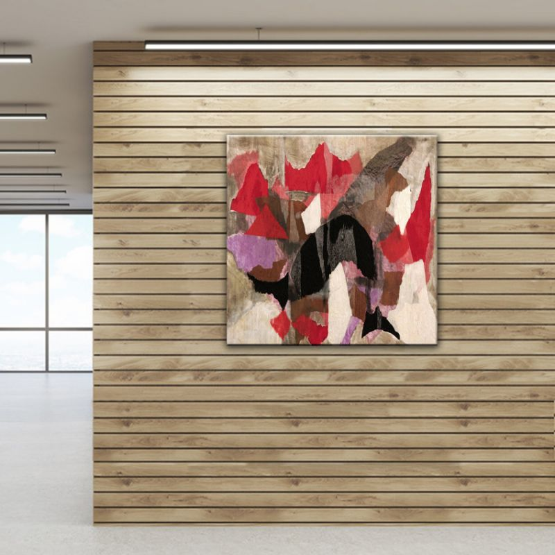 cuadros modernos abstractos para decorar los espacios de tu hogar - compartir sueño