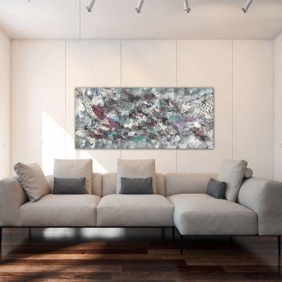 cuadros modernos abstractos para decorar el salón -deshielo