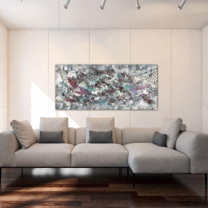 quadre abstracte desglaç