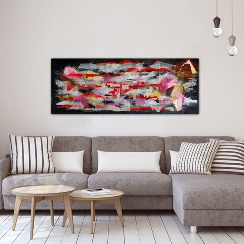 abstract modern paintings. sparks feelings