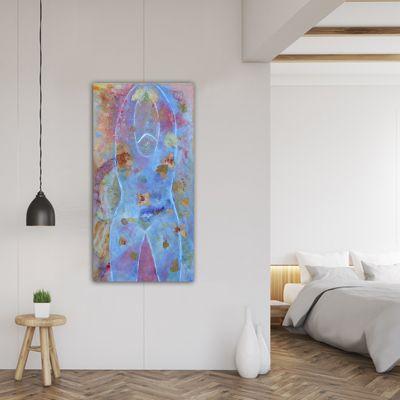 quadre figuratiu silueta