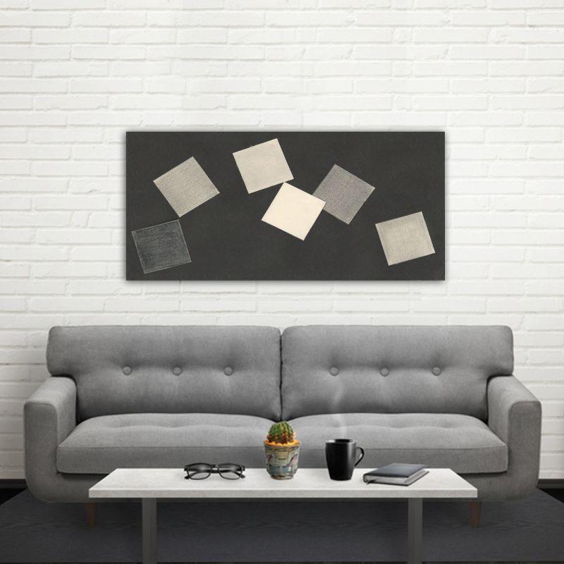 Cuadros modernos minimalistas geométricos para el salón-juego de cartas
